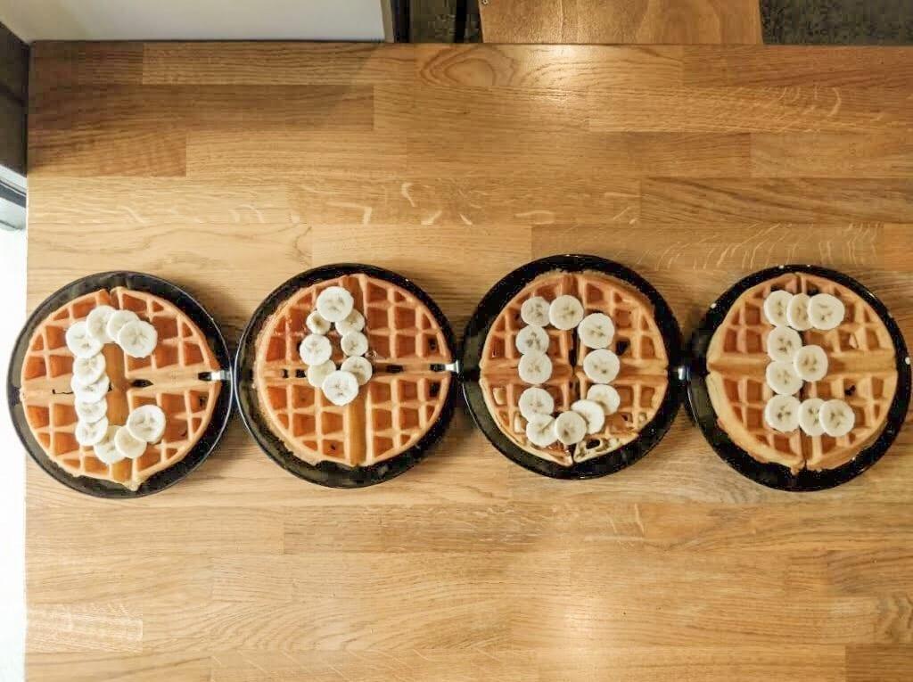 Waffle at CoDE Hostel